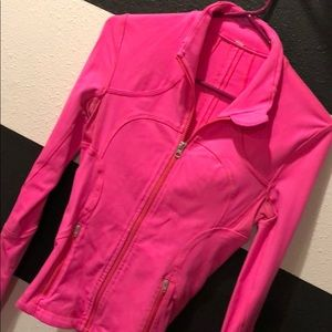 Lululemon bright pink define jacket